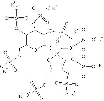 Sucrosa octasulfate potassium salt